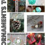 10 Fun Ornaments to Make