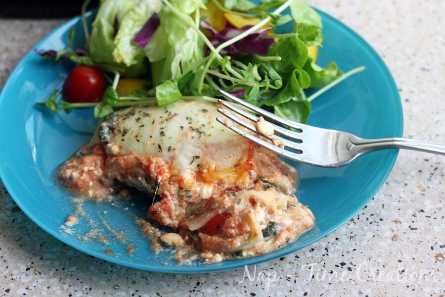 Spinach Lasgna recipe6