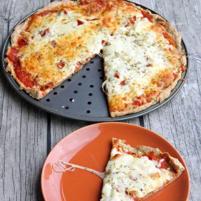 Perfect Whole Wheat Pizza Crust
