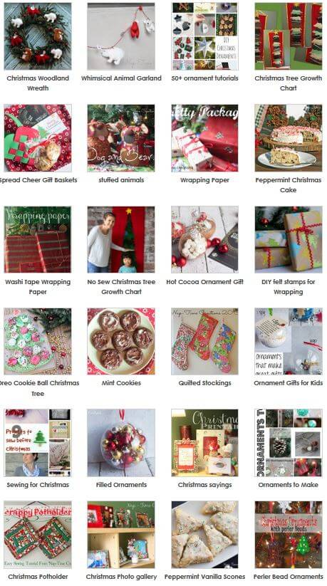 Christmas - Food, decor, sewing, projects, crafts