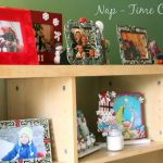 Decorating with Christmas Photos and Frames