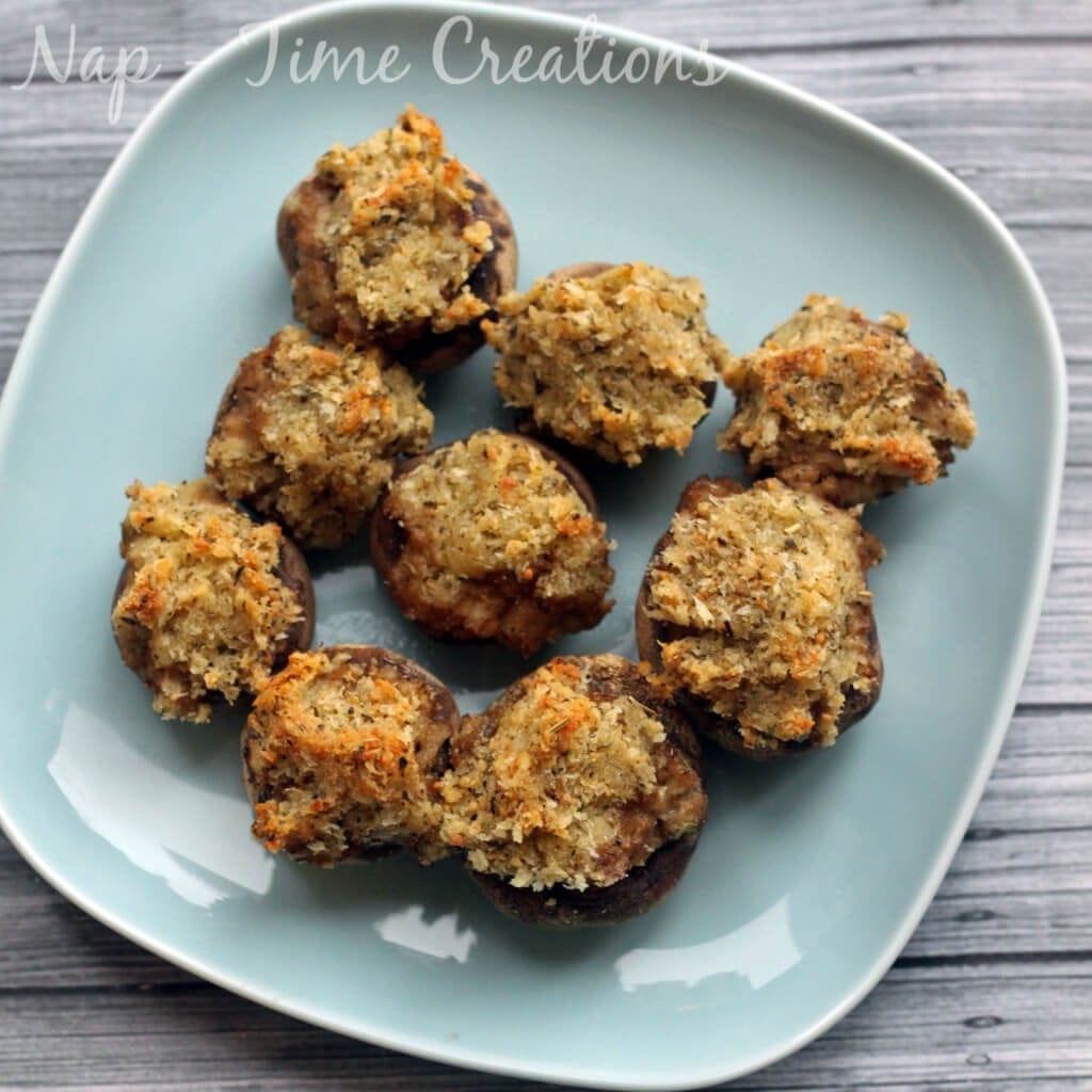 easy stuffed mushrooms5