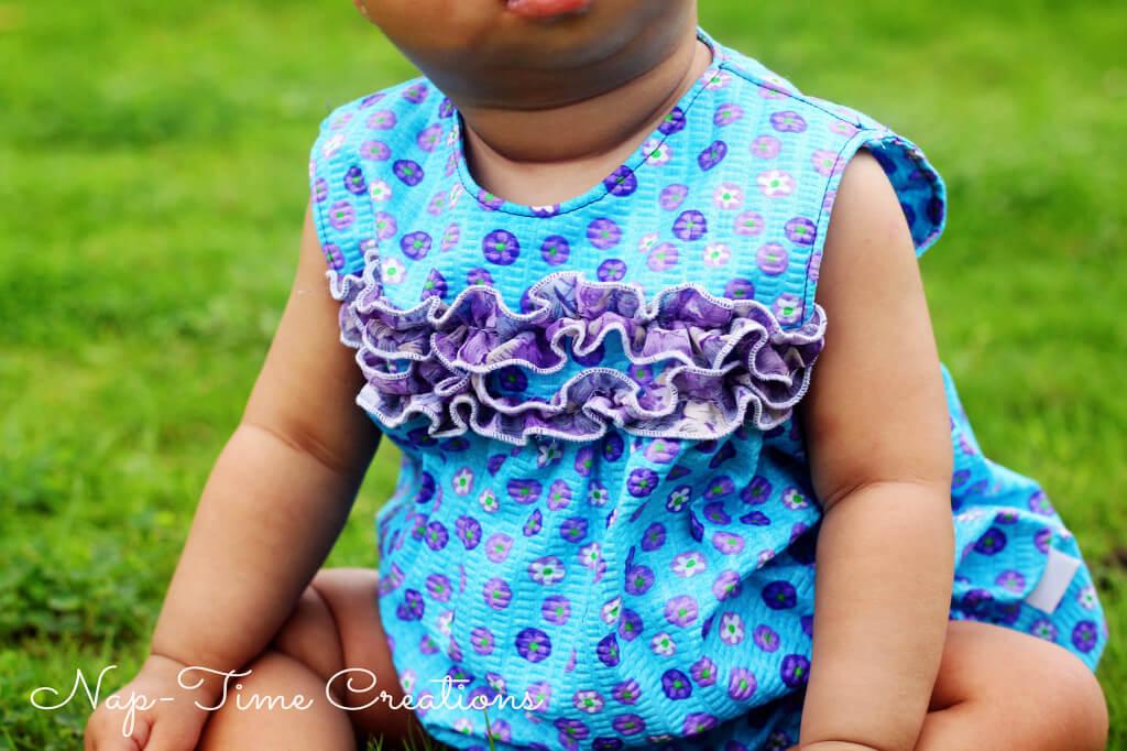 Free baby Romper Pattern