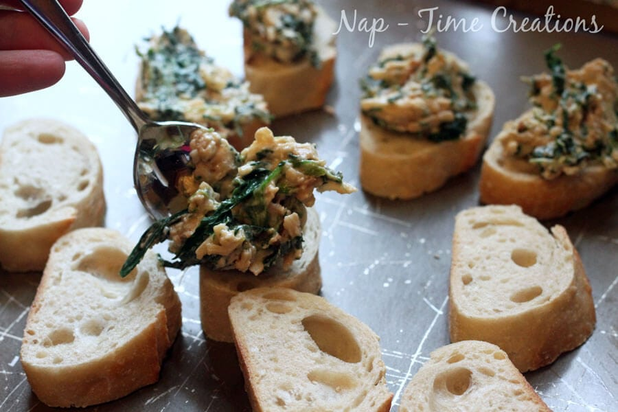 spinach and cheese appetizer #TasteTheMiracle #CollectiveBias #Ad | Nap-Time Creations