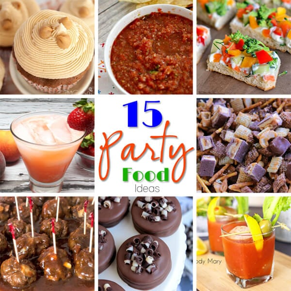 15 Party Food Ideas 600