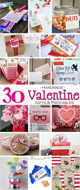30 Handmade Valentine Gifts 800