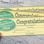 Tips for hosting an American Idol party {sweepstakes closed!}