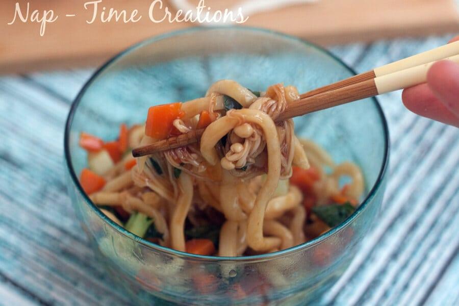 Udon Noodles Dinner1