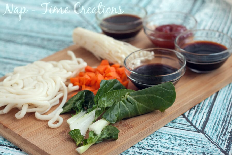 Udon Noodles Dinner4