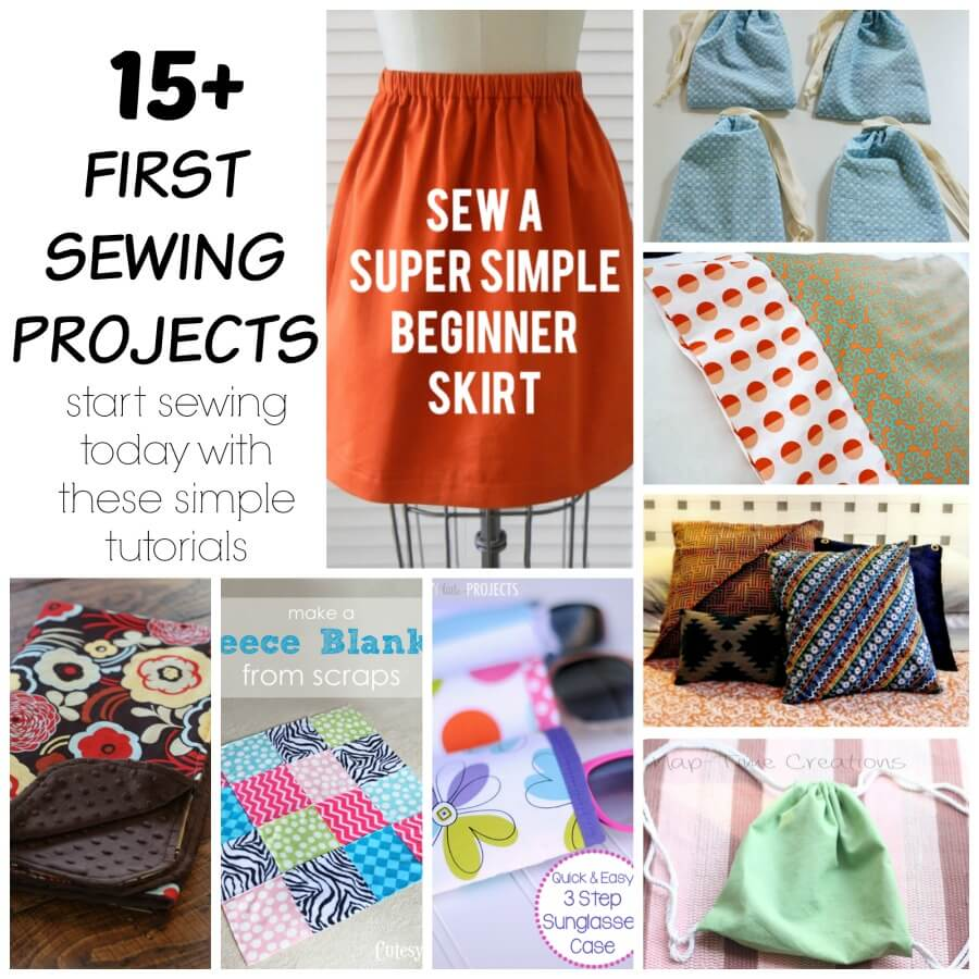 First sewing projects get started with easy