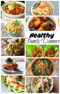 Healthy Family Dinner Recipes