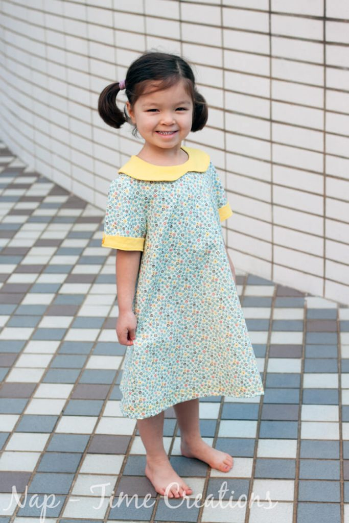 Nora Dress by Nap-Time Creations