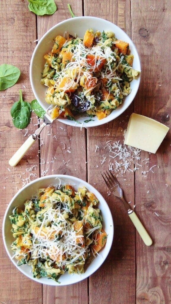spinach-ricotta-and-butternut-squash-pasta-576x1024