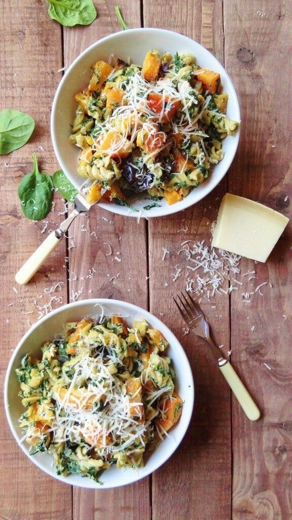 spinach-ricotta-and-butternut-squash-pasta-576x1024