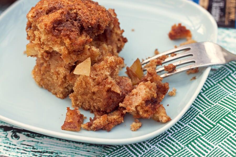 Naturally Sweetened – Whole Wheat Apple Cake