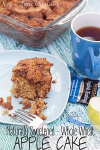 whole wheat apple cake #SweetWarmUp #CollectiveBias found on Nap-Time Creations