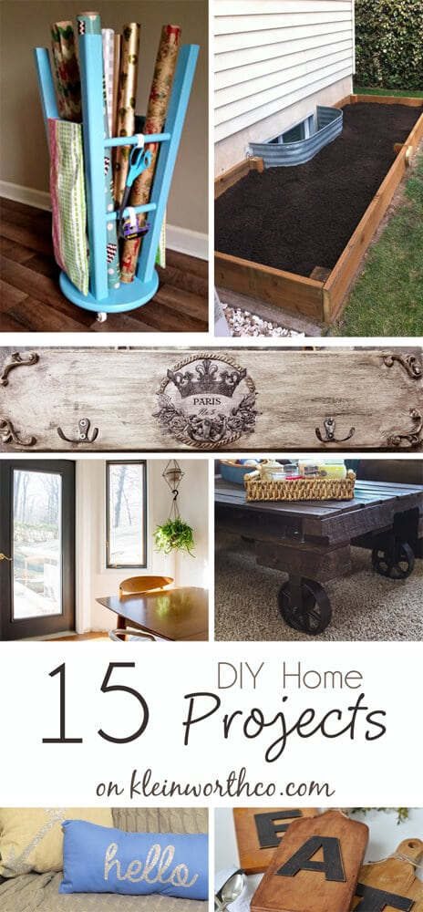 15 diy home projects 1000
