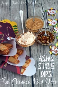 Asian Style Dips for Chinese New Year #NewYearFortune #Ad on Nap-Time Creations2