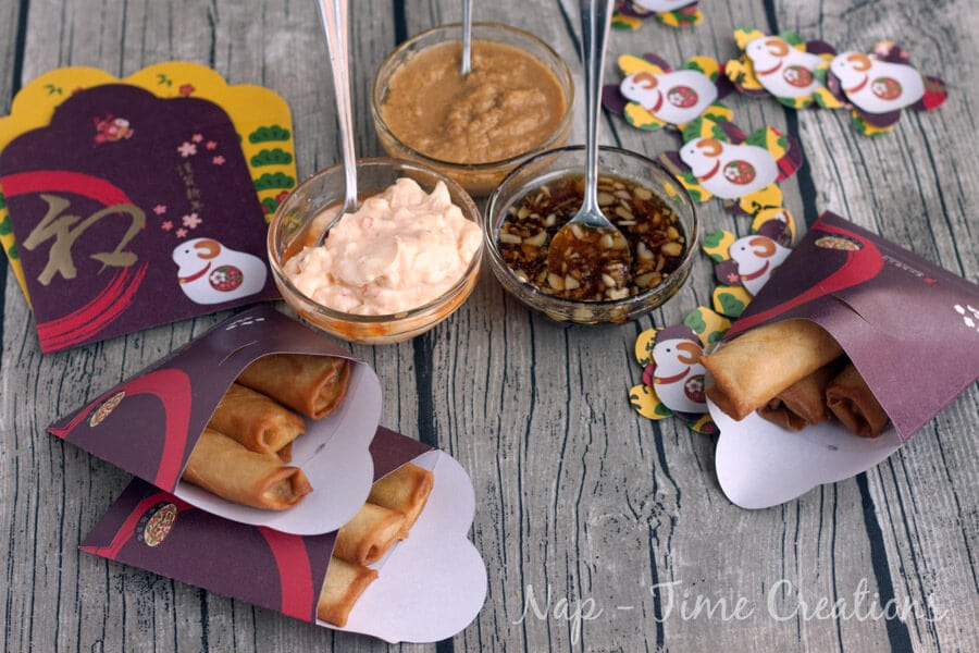 Asian Style Dips for Chinese New Year #NewYearFortune #Ad on Nap-Time Creations6