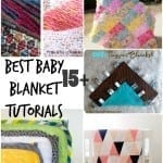 Best Baby Blanket Sewing Tutorials