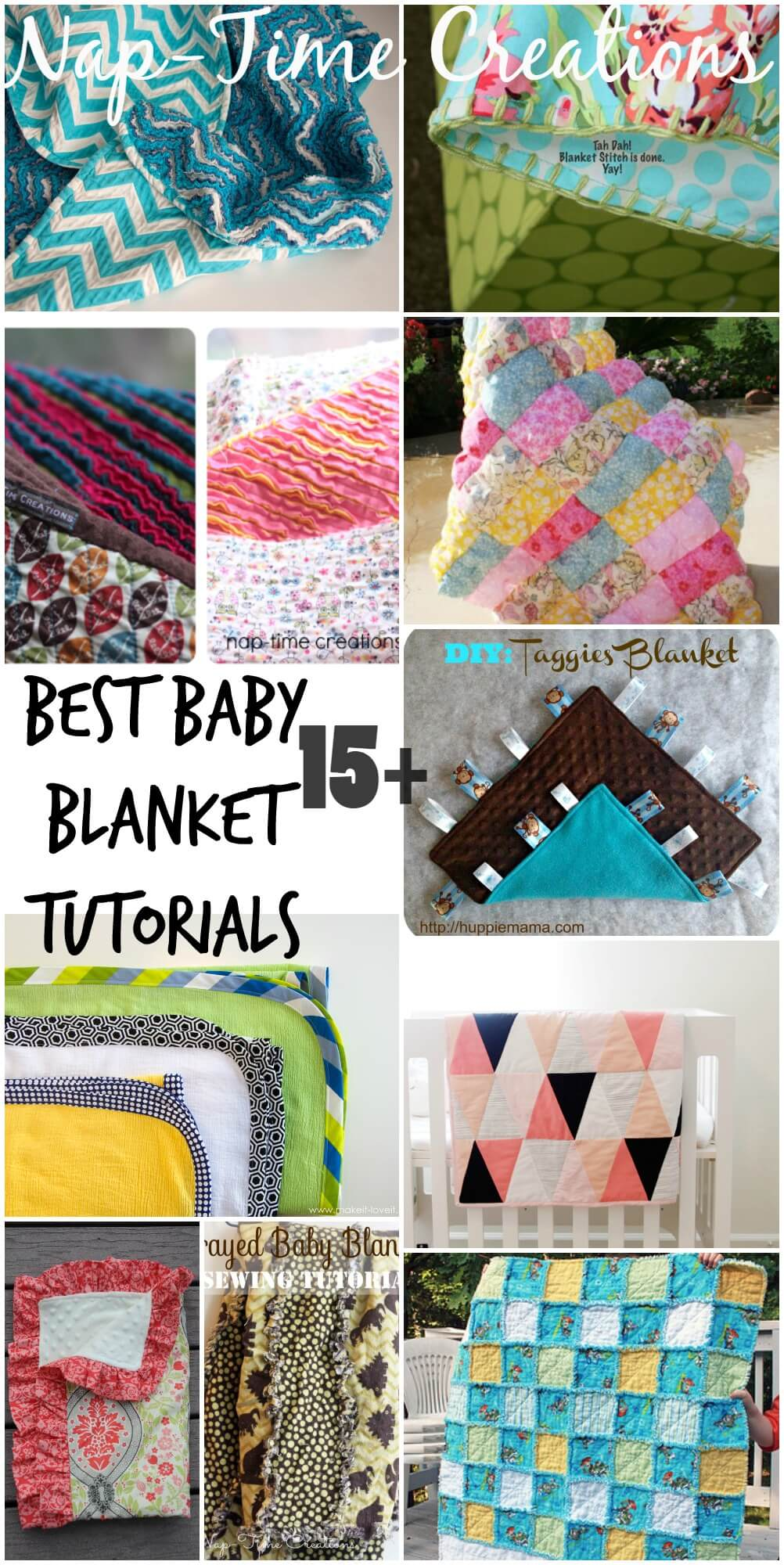 Best Baby Blanket Tutorials