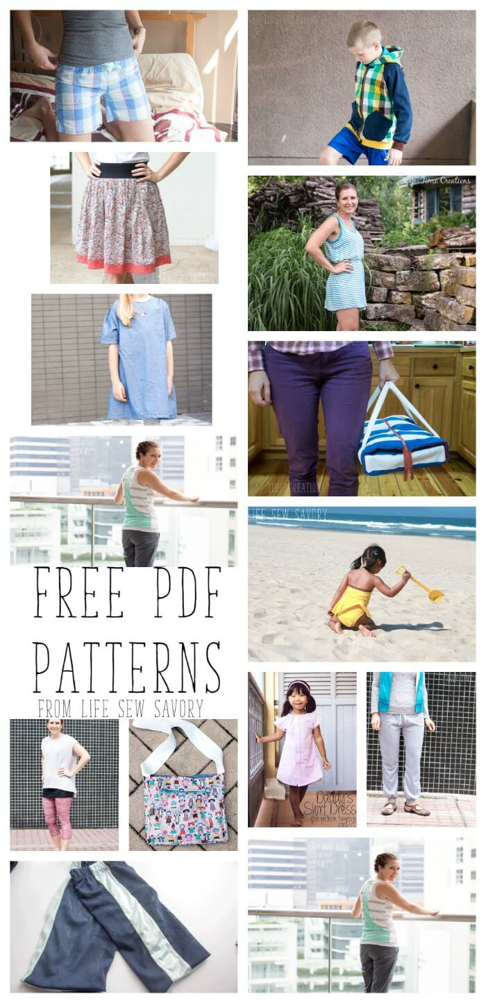 Free PDF Patterns and Printables - Life Sew Savory