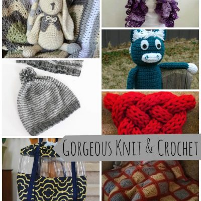 Gorgeous Knit and Crochet projects