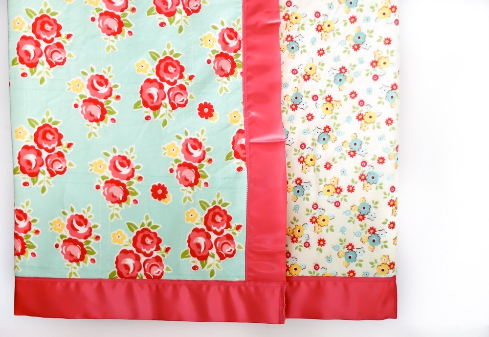 satin binding blanket