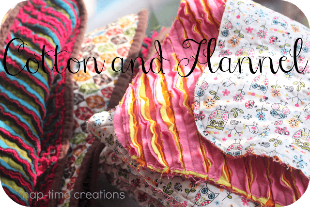 baby blankets and binding tutorial