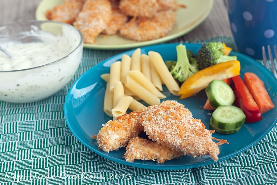 baked cheesy chicken fingers5