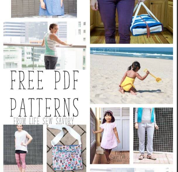 Free PDF Patterns - Life Sew Savory
