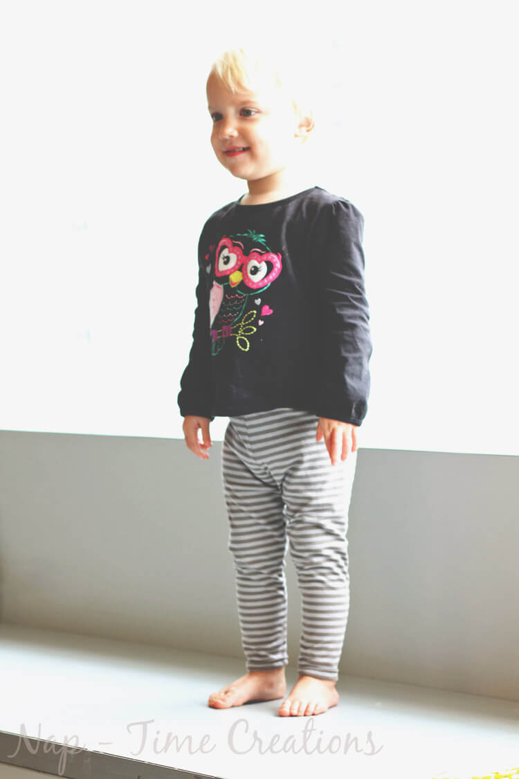 Free Classic Legging Pattern for Girls 18 mths-12 years - Life Sew ...