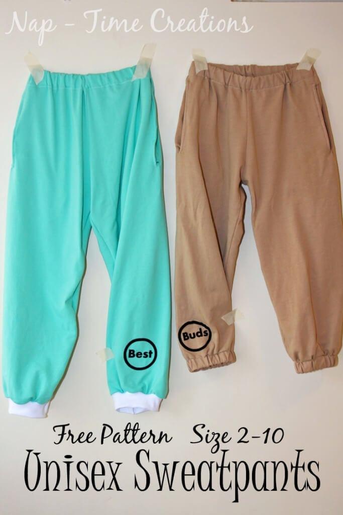 free unsiex sweatpants pattern12