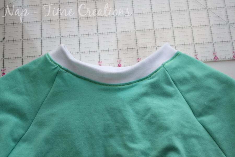 raglan dress tutorial11
