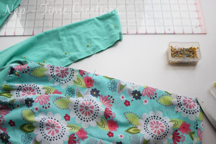 raglan dress tutorial13