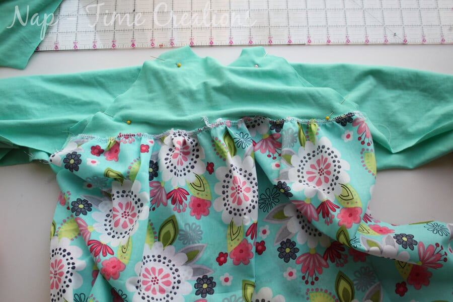 raglan dress tutorial9