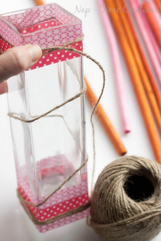 washi valentine vase3