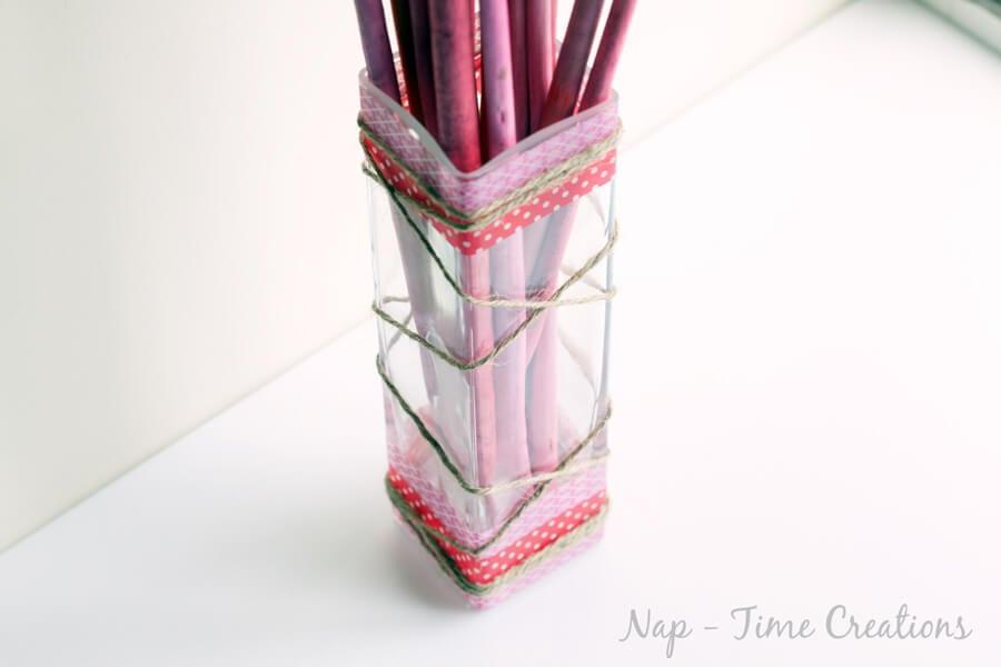 washi valentine vase6