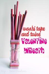 washi valentine vase7