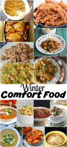 Winter Comfort Food Recipes