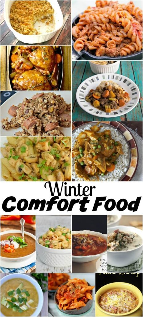 winter comfort food recipes, found on Nap-Time Creations