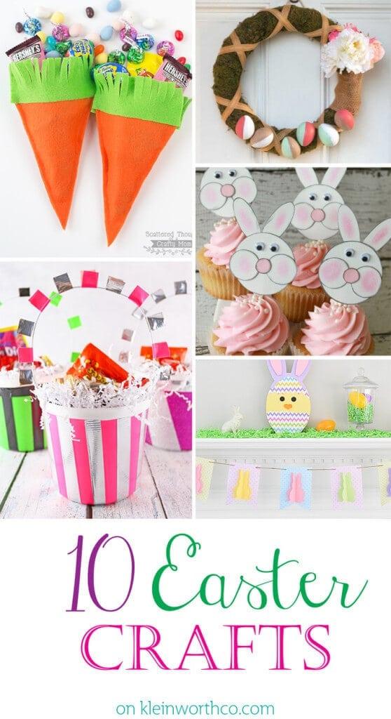 10 Easter Crafts 1300