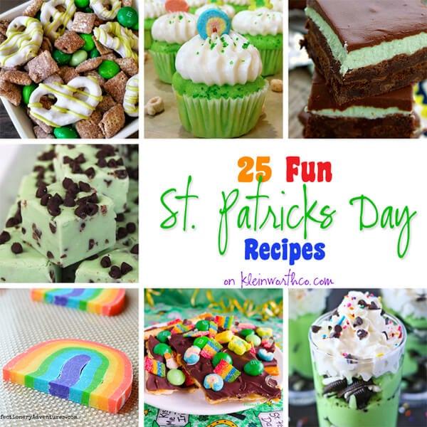 25 Fun St Patricks Day Recipes 600