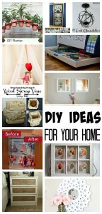 Great DIY projects for your home.