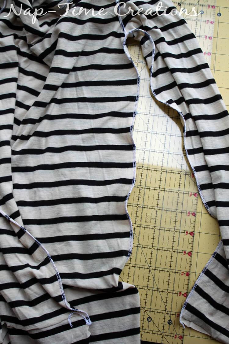 Free Womens T-Shirt Pattern 2