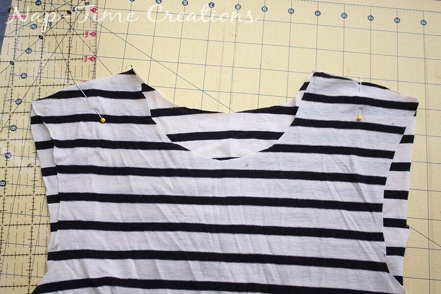 Free Womens T-Shirt Pattern 6