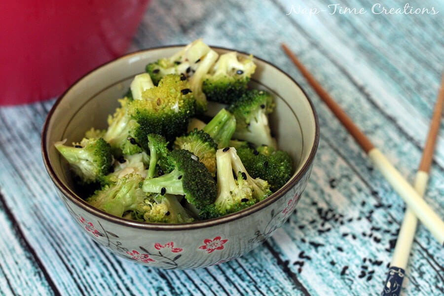 Garlic Broccoli Salad