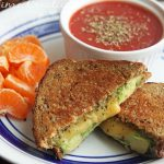 Gouda Avacado Pesto Grilled Cheese
