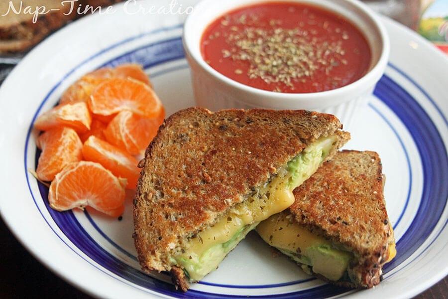 Pesto Gouda Grilled Cheese 2