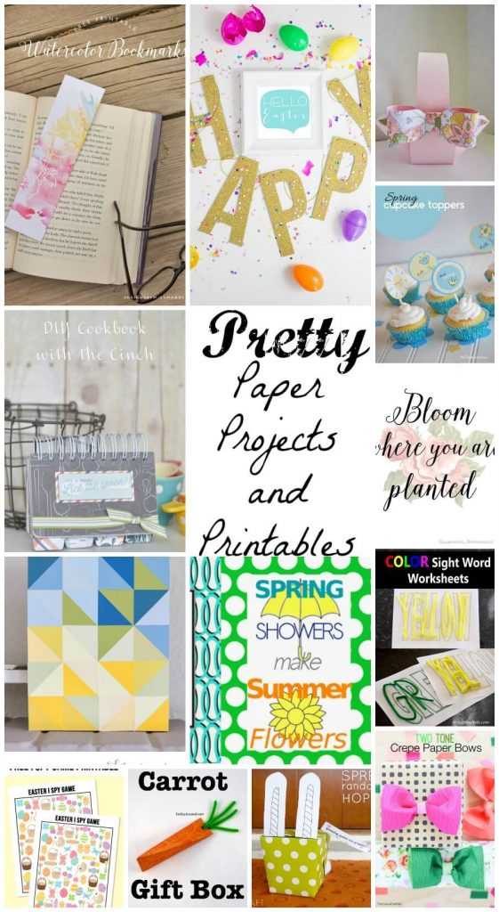 Pretty Paper Projects and Printables
